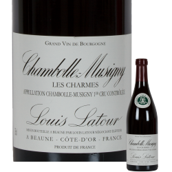 "Chambolle Musigny 1er Cru ""Charmes"" 2011 Louis Latour"