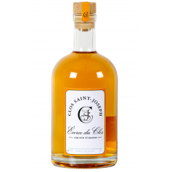 "Liqueur d'Orange ""Ecorce du Clos"" Clos St-Joseph"